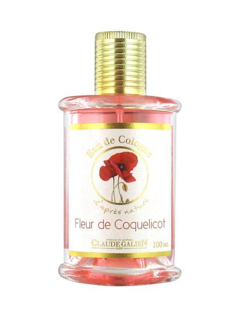 claude galien eau de cologne d apr 232 s nature poppy flower 100ml