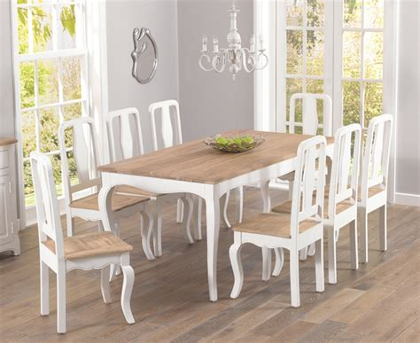 extraordinary shabby chic dining table and chairs 90