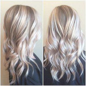 silber blond haare icy silver hair color haarfarbe blond