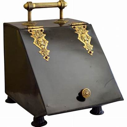 Coal Scuttle Victorian Era Egyptian Revival