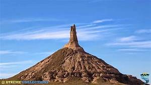 Chimney Rock, The most picturesque landmark along the ...