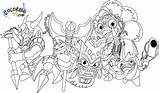 Magic Skylanders Coloring Pages Spyro Dragon Element Elemental Character Draw Double Printable Team Trouble Print Characters Pop Fizz Ball Much sketch template
