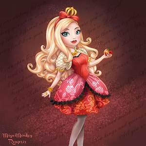 Ever After High Apple White by Mig515 on DeviantArt