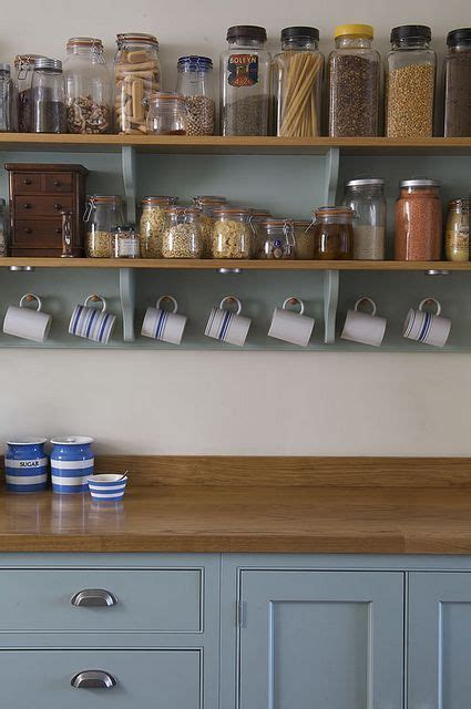 country shelves for kitchen modern country kitchen in farrow and green blue and 6201
