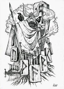 Symbole Mythologie Nordique : pingl par bruno cariou sur norse celtic slavic and pagan pinterest norse mythology ~ Melissatoandfro.com Idées de Décoration