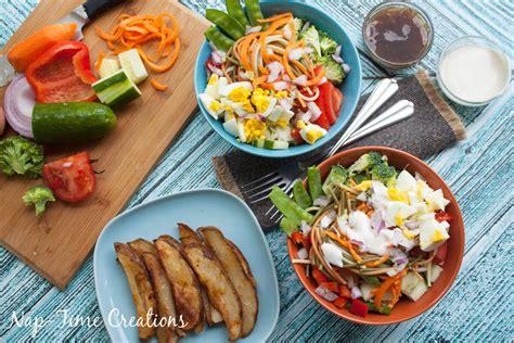 fresh dinner recipes super salad fresh dinner recipe life sew savory