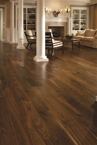 Traditional, Living, Space, Walnut, Floors