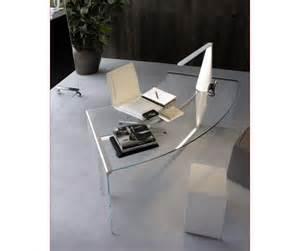bureau de service bureau direction courbe verre haut de gamme lag mobilier