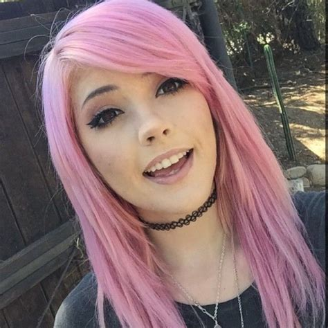 Leda Muir With Pink Hair Instagram Shes The Cutest