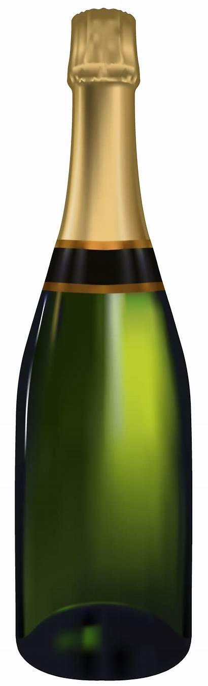 Bottle Champagne Clipart Bottles Transparent Plastic Clipartpng