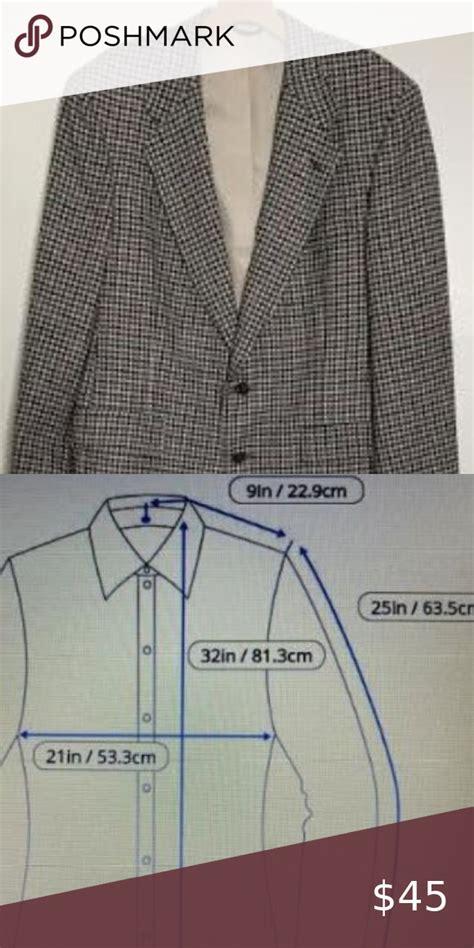 vtg austin reed wool houndstooth sport coat sz