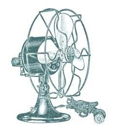 Vintage Fan Clip Art Free