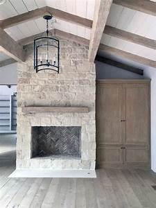 Top, 70, Best, Stone, Fireplace, Design, Ideas