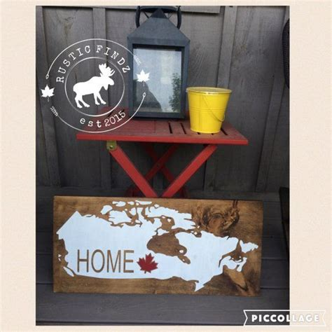 This website is quite the popular one as it is well known for its exceptional inventory. Canada Decor // Canadian Decor // Canada Wood Sign // Eh ...
