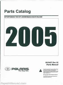 2005 Polaris Sportsman 700 Twin Efi Parts Manual