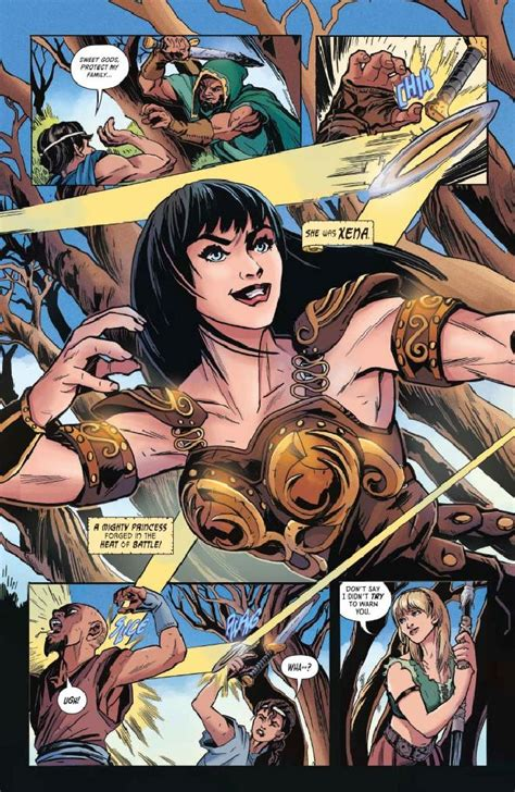 Xena: Warrior Princess #1 preview – First Comics News