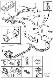 30630627 - Fuel Pipe  Engine  Lines  Tank  Rail