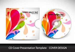 abstract cd cover presentation design vector 01 free download With cd cover design online