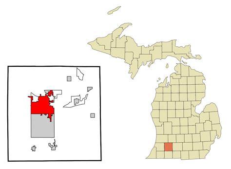 Kalamazoo Michigan Map Afputracom