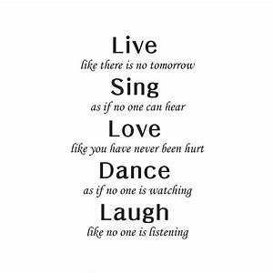 17 Live Laugh Love Quotes – WeNeedFun