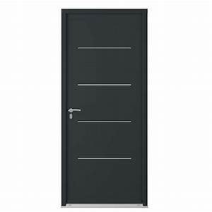 Renforcer Porte D Entrée : porte d 39 entr e mocka acier portes ~ Premium-room.com Idées de Décoration