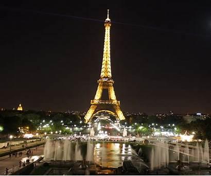 Eiffel Tower Night Paris France Desktop Wallpapers