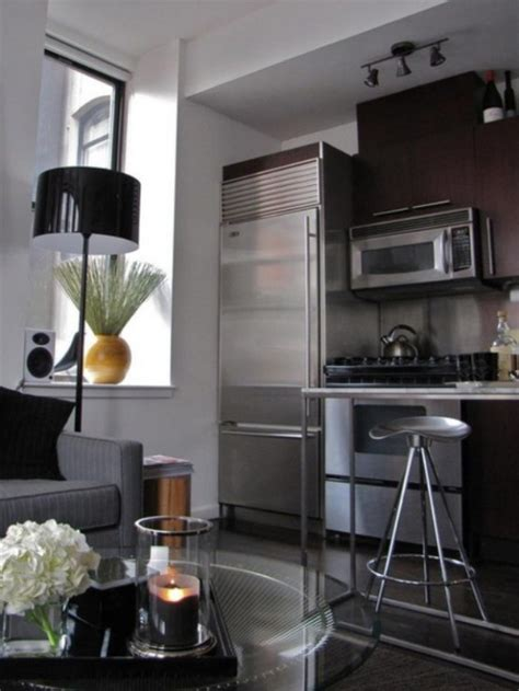 small  square meter minimalist bachelors loft digsdigs