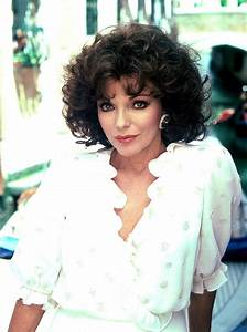 17 Best images about Joan Collins 2 on Pinterest | Silver ...
