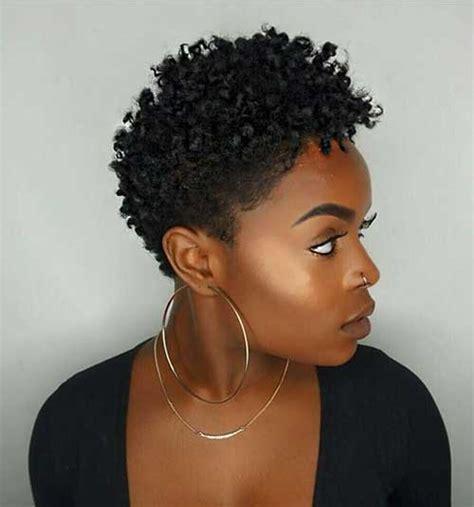 short natural haircuts  black women