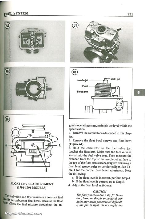 yamaha yz  stroke motorcycle repair manual