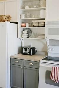 meuble de cuisine 32 idees rusees pour plus de rangement With meuble cuisine sans porte