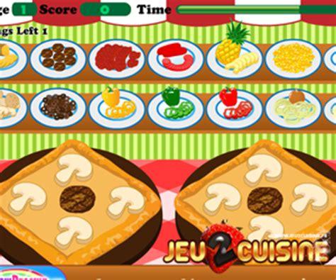jeux de cuisine de pizza de quelques liens utiles
