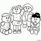 Cabbage Patch Coloring Draw Pages Drawing Step Drawings Dragoart Skin Patches Hair Steps Printables Troll Characters Come Getdrawings Drawinghub Comments sketch template