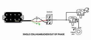 Single Coil Humbucker Wiring Diagram