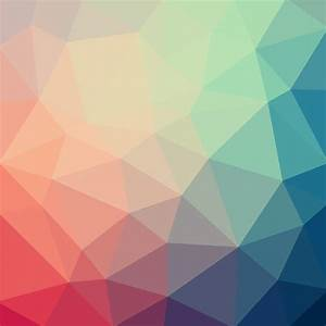 Light, Pastel, Color, Vector, Low, Poly, Crystal, Background