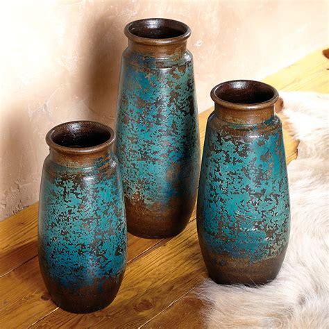 san juan cobalt vases set