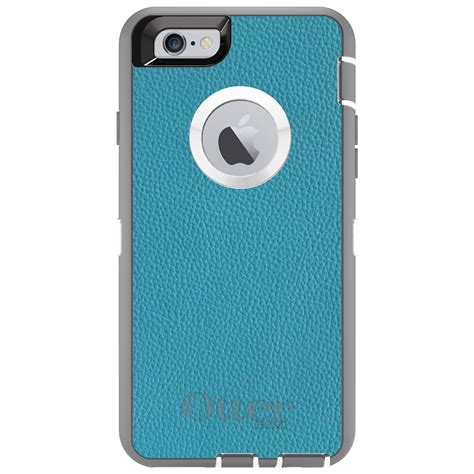otterbox iphone 6 custom otterbox defender for iphone 6 6s plus teal leather