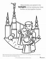 Lds Temple Coloring Pages Primary History Drawing Salt Lake Marriage Mormon Clipart Sealing Printable General Church Families Books Forever Temples sketch template