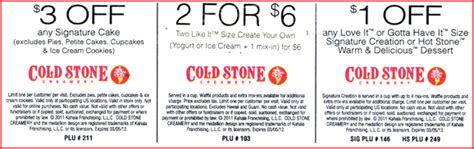 coldstone coupon release date price and specs
