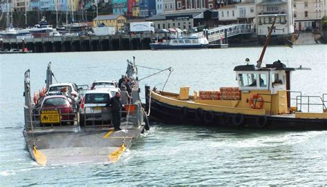 Boat Transport Dartmouth by Lower Ferry Kingswear To Dartmouth By The Dart