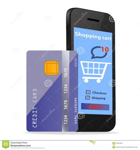 shopping concept e commerce technology with modern