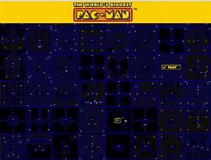 World's Biggest PAC-MAN   Pacman game