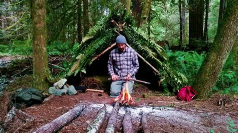 Solo Survival Shelter Vancouver Island Overnight Doovi