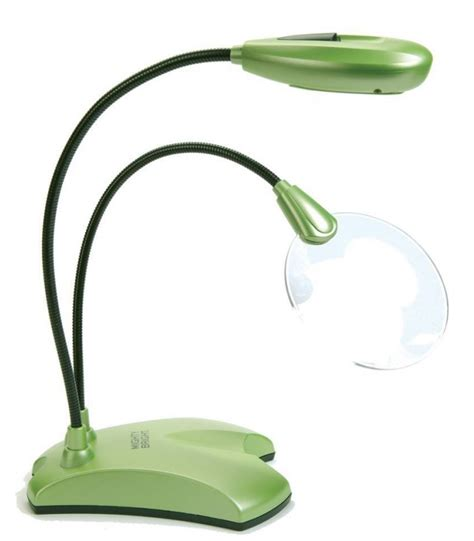 mighty bright craft light with magnifier vusion 2 led craft light and magnifier