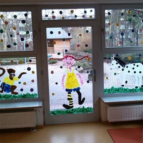 Fensterdeko Weihnachten Kinderkrippe by Pippi Langstrumpf Fensterdeko Karneval Pippi