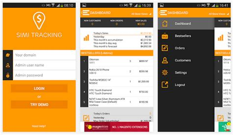 android tracking app the best android ios apps for magento firebear
