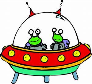 UFO clipart alien ship - Pencil and in color ufo clipart ...