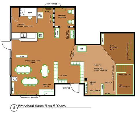 preschool floor plan layout preschool room 3 to 5 years spaces 323