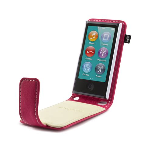 housse ipod nano 7g proporta pu leather style flip cover for ipod nano 7g pink with warranty ebay