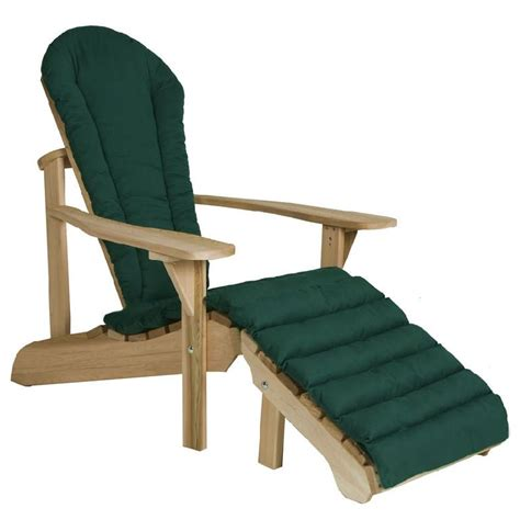 adirondack chair and ottoman adirondack chairs and cushions adirondack ottoman cushion